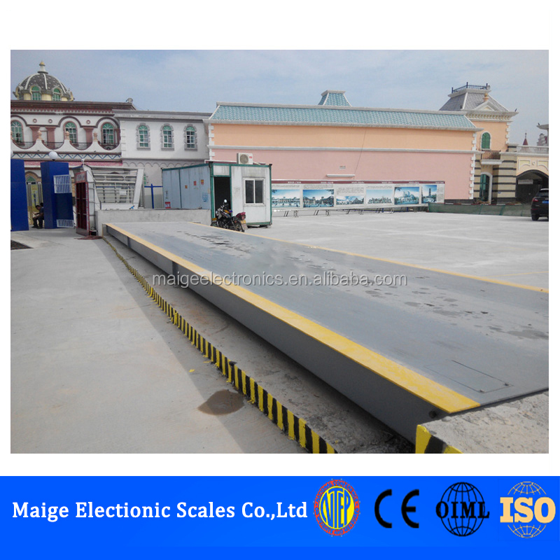 SCS Type 24m long 150 ton 100 ton 80ton 60 ton 50ton 30 ton Scale Full Electronic Weighbridge truck weighing scale for Sale