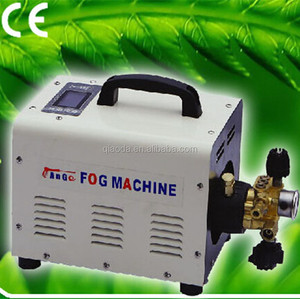 High pressure Yellow cooling system electric water mist trigger sprayer
