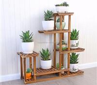 bottom price garden wooden flower plant stand