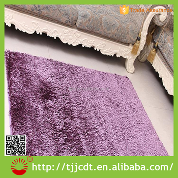 Shiny Shaggy Cheap High Quality Luxury Microfiber Chenille Bath Rug