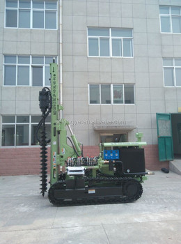hot sale multi-function rotary driving pile machine MZ130Y-2 for pv solar