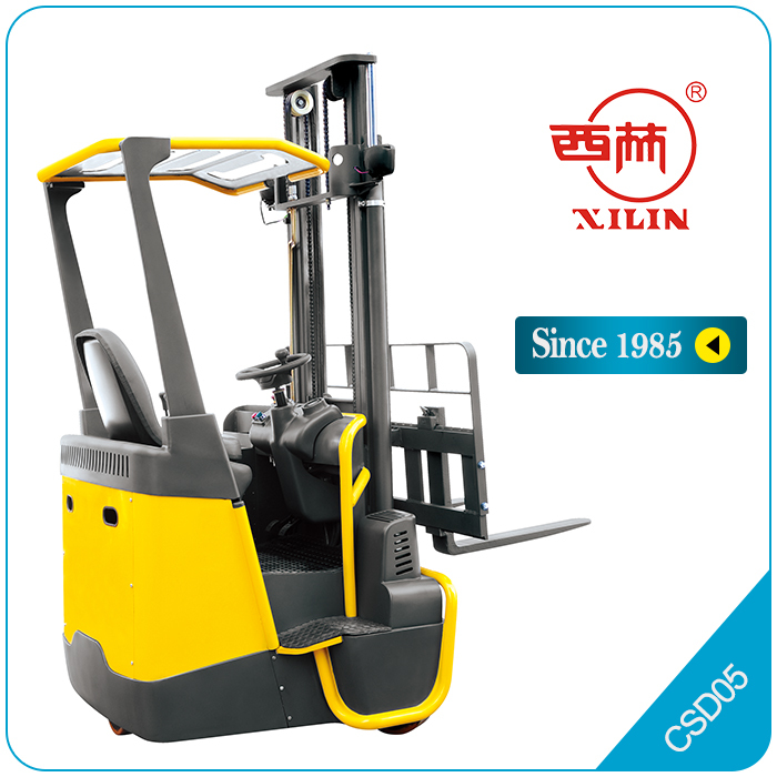 Xilin electric forklift 4-directional narrow aisle - CSD