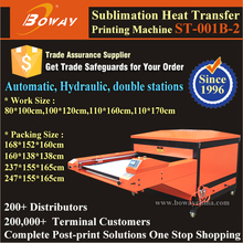 80*100cm Flatbed Hydraulic Sublimation hot transfer t-shirt printing machine prices
