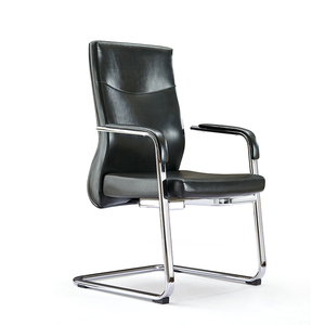 best hot pu for chair leather chrome steel base chair pu leather office