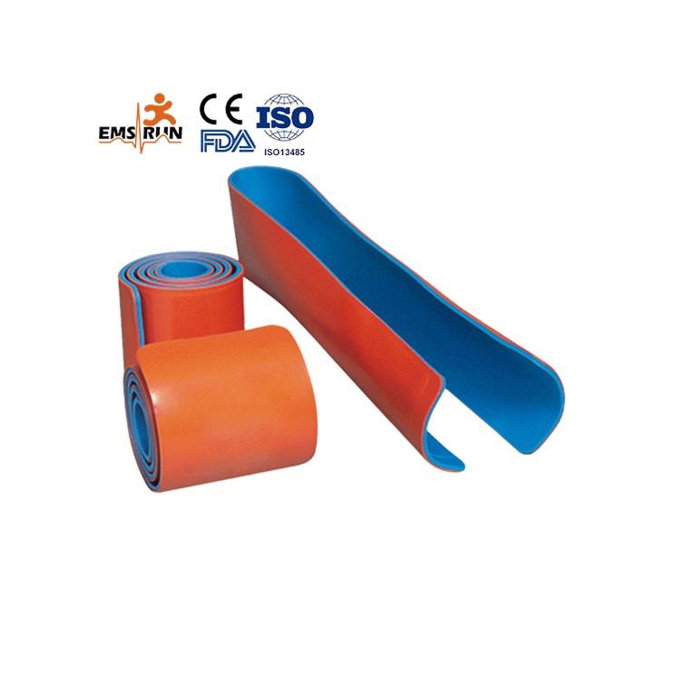 Medical first aid immobilization waterproof splints