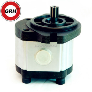 oil transfer hydraulic gear pump for dozer with relief valve