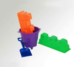 2013 new beach toy set,bucket,sand mold ,spade