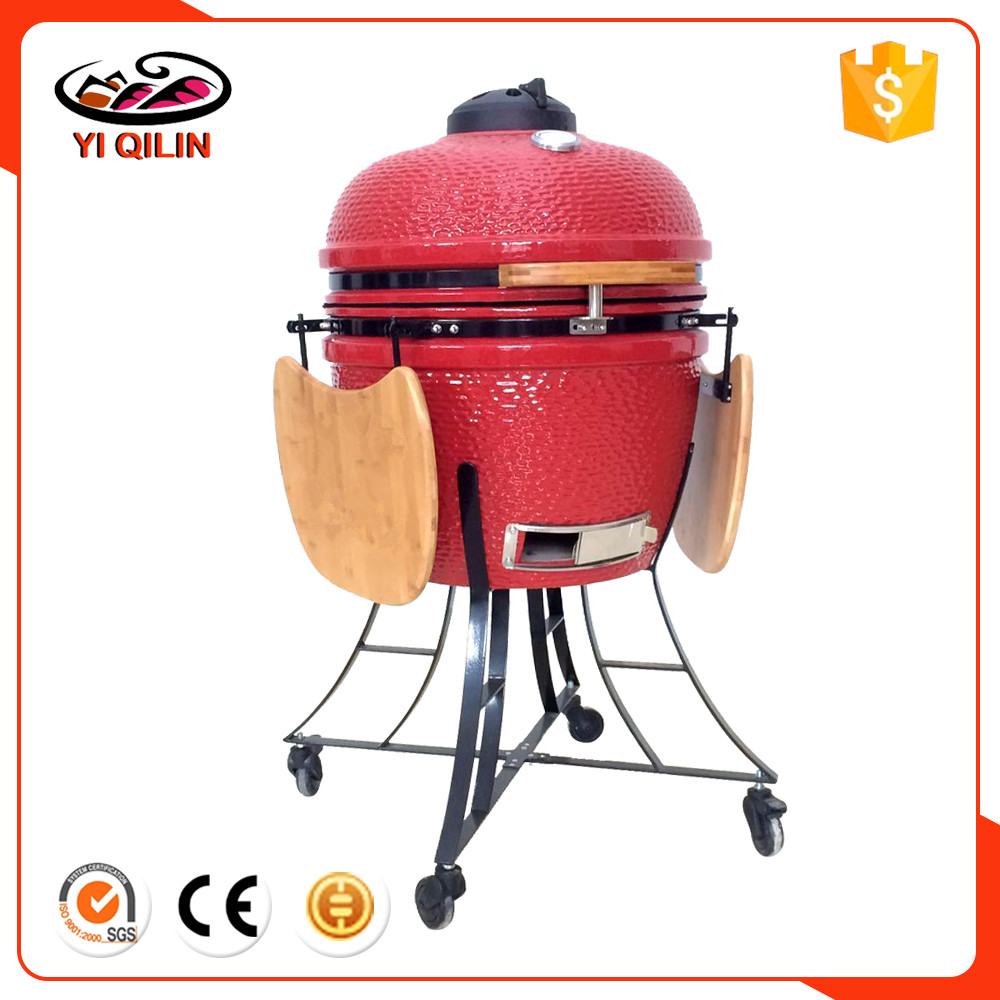 2016 Newstyle High Quality Black Egg Shaped Portable Thermos Grill