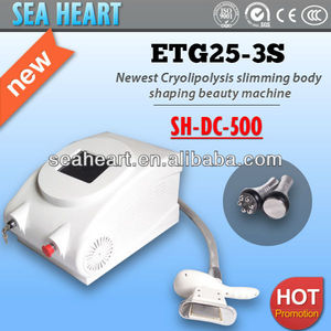 high quality portable criolipolisis + cavitation + rf beauty equipment with CE