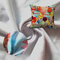 High Quality Polyester Pattern pillow Fabric Car Seats Wholesale, stretch fabric