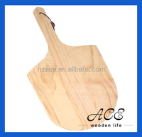 Wood Pizza Peel Board with Handle