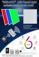 New Rgbw Multicolor Color Temperature Adjust Led Panel Light ...