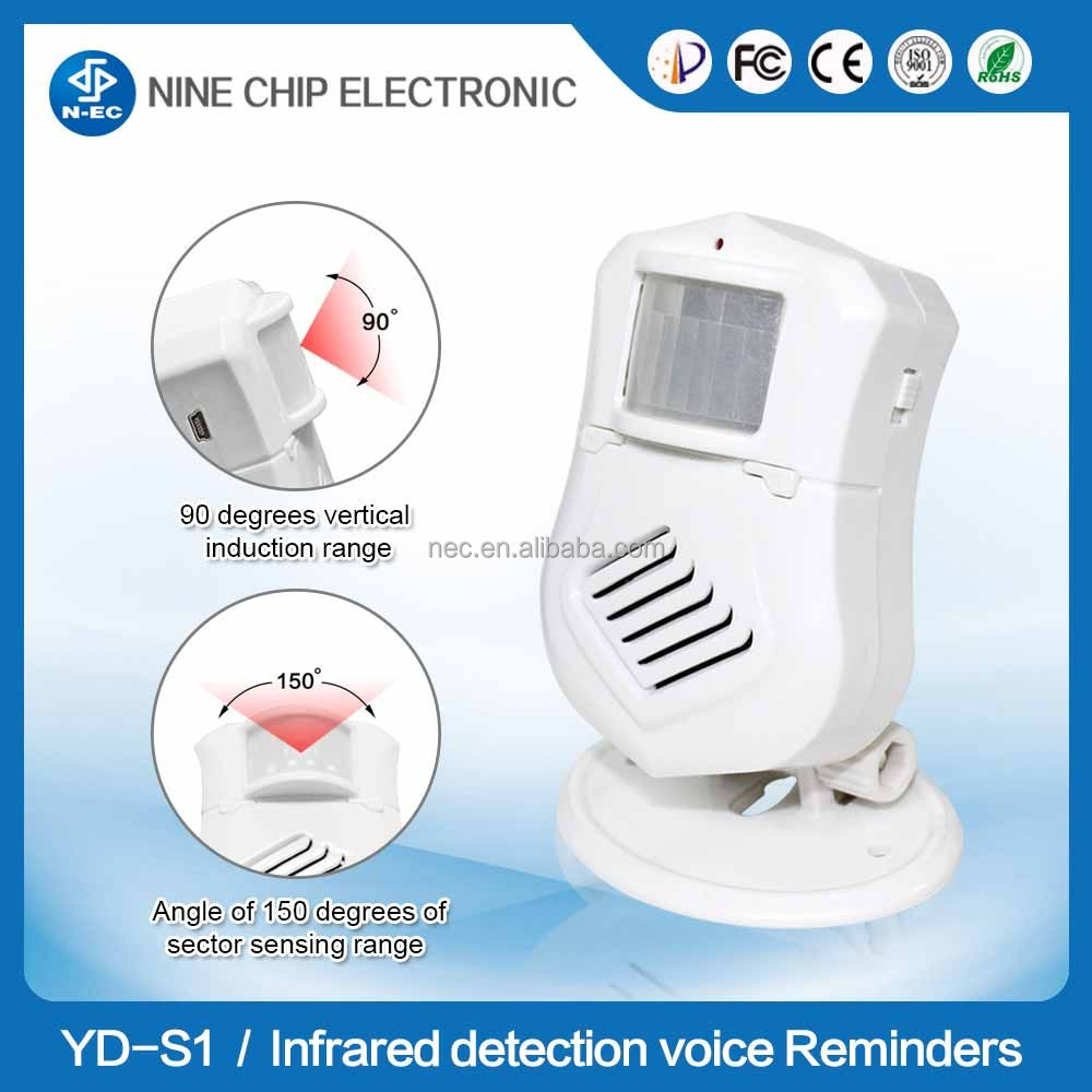 Induction door bell doorbell to welcome sensor,2015 NEW Electronic Sensor Detector,Welcome Chime Speak doorbell