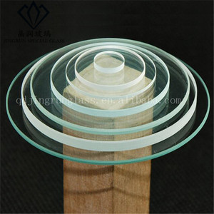 Hot sale Factory high quality thickness round optical glass disc square frosted lens silica quartz glass Chinese Manufacturer