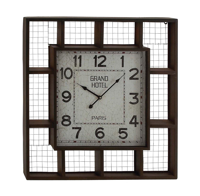 Benzara Elegant Styled Creative Metal Wall Clock