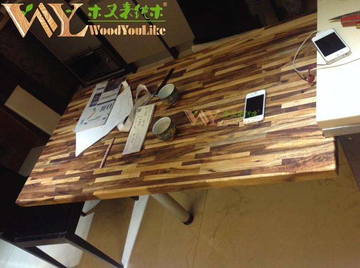 acacia encimera m x x mm encimeras de madera maciza