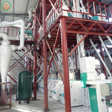 best selling commercial corn flour making machine maize production line south africa