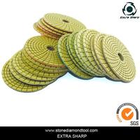 Professional diamond polishing pads canada with high quality
