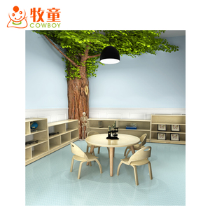 Hot sale kids kindergarten preschool furniture Wooden tables and chairs