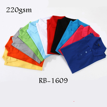 Rubysub RB-1609 Wholesale Cheap Price New Design Cotton Custom Full Heat-Transfer Printing Polo T shirt