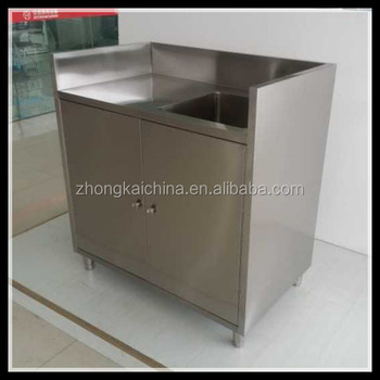 Commercial Outdoor Kitchen Sink Stainless Steel Cabinet - Buy ...