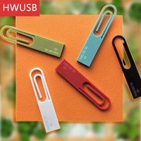 Creative Mini book design Paper Clip Usb flash drive Usb 2.0 pen drive 4GB 8GB 16GB for gift or use