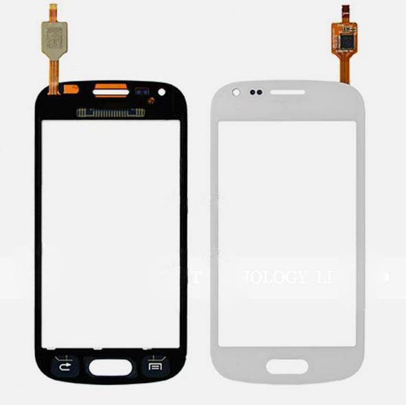 white black digitizer for samsung galaxy trend s7560 s duos s7560m gt s7562 touch screen glass. Black Bedroom Furniture Sets. Home Design Ideas