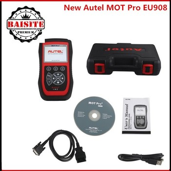 Multi Functions Mot Pro Auto Car Diagnostic Scanner Autel Eu908 Work