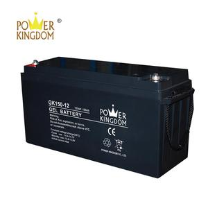 12V 150AH Gel Battery Price Solar Storage UPS Rechargeable Deep Cycle Replace Lithium 12 Volt battery