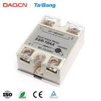 DAQCN SSR-40VA Single Phase Normally Closed Solid State Variable Relay