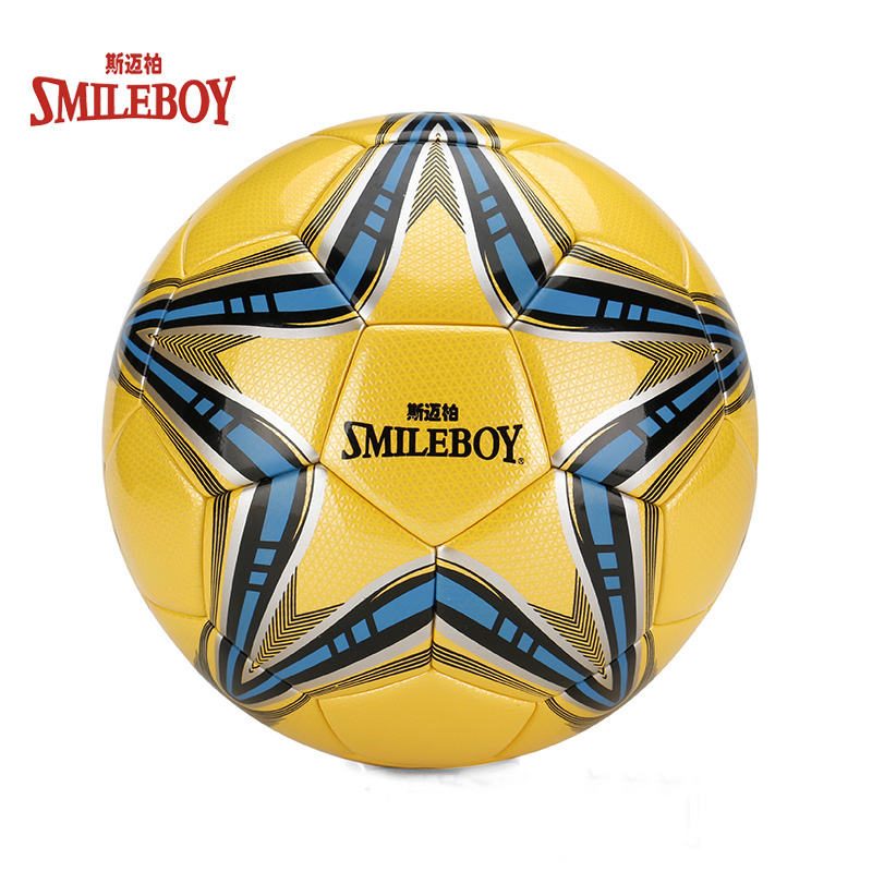 Wholesale cheap price TPU laminated soccer ball with logo customized