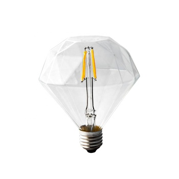 Chinlighting Wholesale rhombus cover 230V 3.5W 2700K warm white E27 dimmable led filament bulb