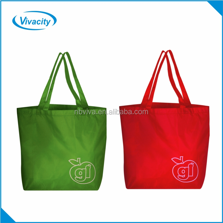 00eb8bc4d7 Hot sale standard size printed polyester aldi supermarket folding shopping  bag