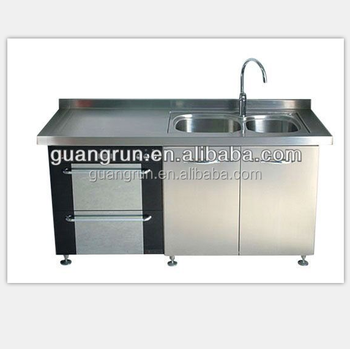Commercial Stainless Steel Kitchen Sink Cabinet Gr G2000