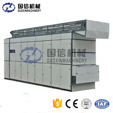 Continuous industiral mesh belt seaweed dryer fruit food drying machine