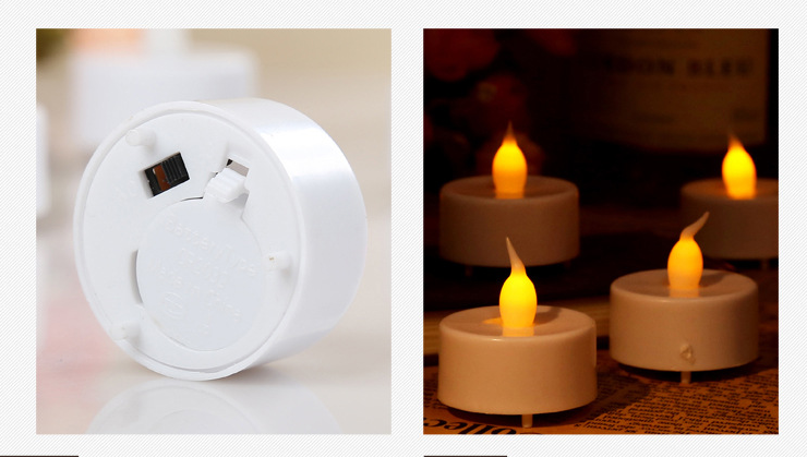Batteria candele a led tealight velas led