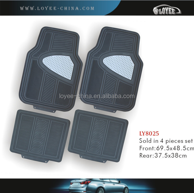 Full Set Type and 4pcs No.of Mats car interior material