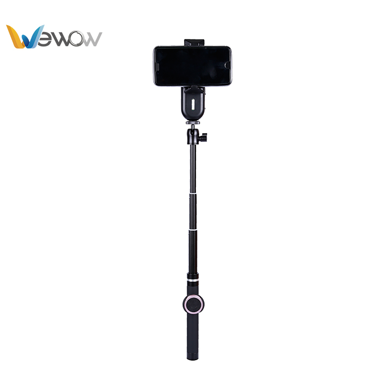 Perfect New design Wewow brushless gimbal motor stabilizer knob selfie stick for phone 8/smartphone