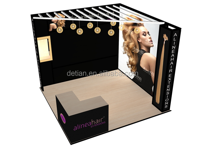 Small Expo Stands : Custom small size trade show expo booth free charge designing expo