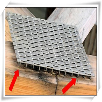 Galvanized Mending Truss Nail Plate For Wood House Buy