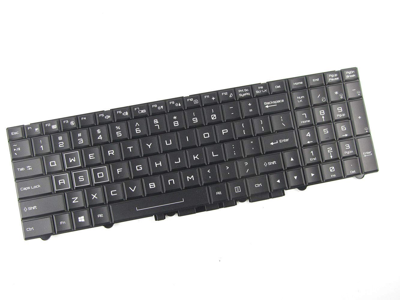 For Clevo N150RD N151RD N155RD N170RD N155RF Gaming Laptop Keyboard US Backlit