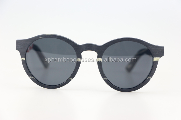 OEM Polarized Custom logo CE women men fashion wood sunglases sunglasses