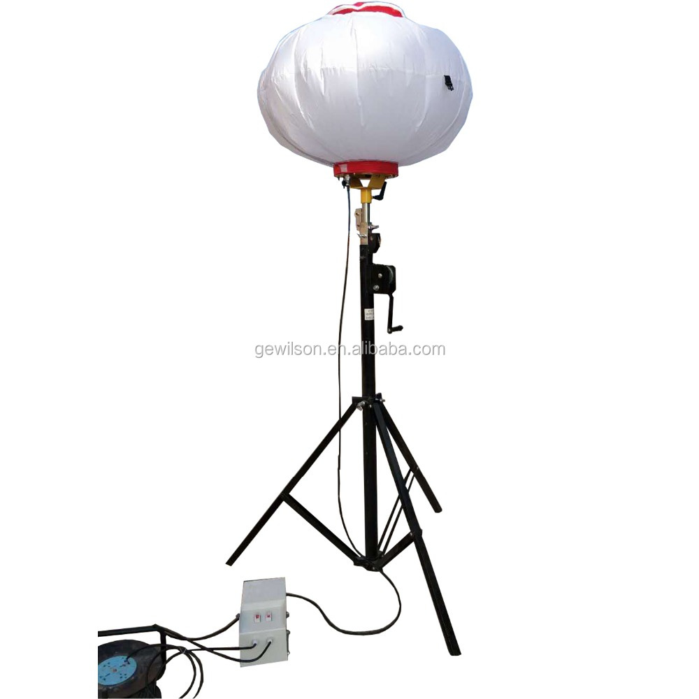 Small Portable Manual Ballon Lighting