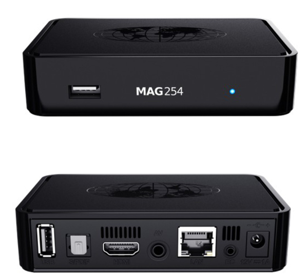 MAG 250 MAG 254 IPTV SET-TOP BOX for north america and Europe