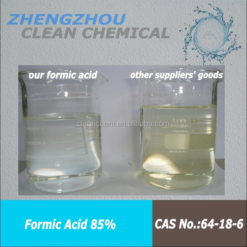 factory price formic acid 85% & 2019 china reliable supplier & china reliable supplier