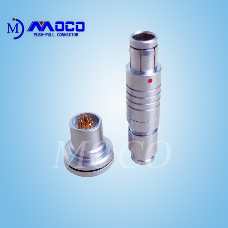 2-19 pin compatible F series metal connector