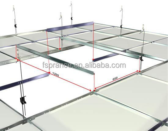 T Bar Aluminum Suspended Ceiling Grid - Buy Suspended Ceiling Grid,Aluminum Suspended Ceiling ...