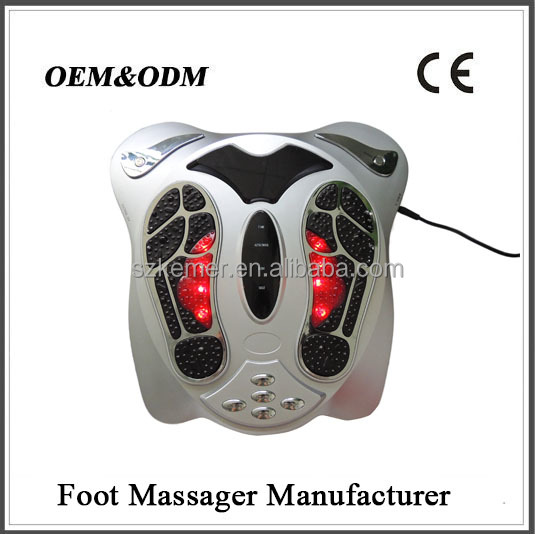 The speed up blood circulation and promote metabolism, eliminate body's toxin electronic foot and body massager