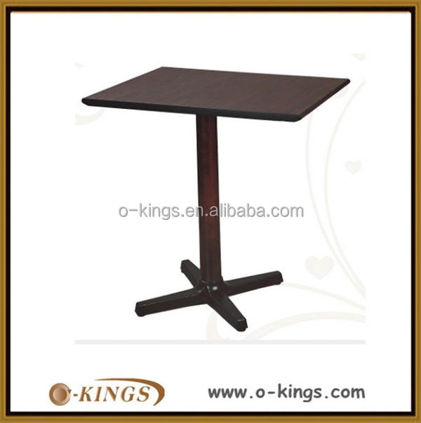 Wood top restaurant 2 person japanese dining table