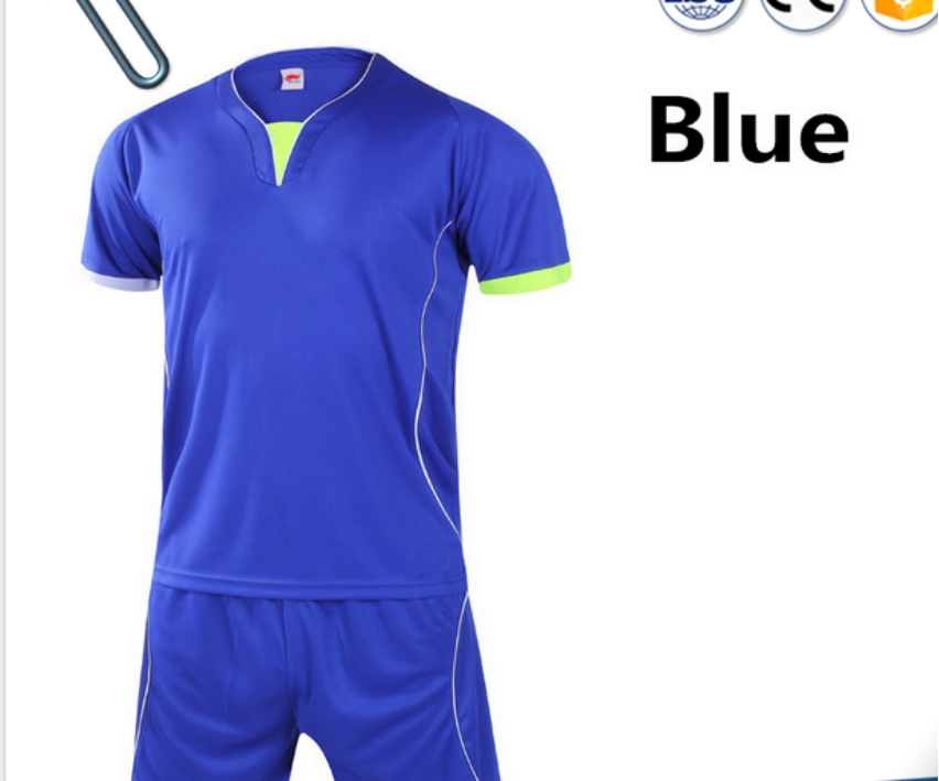 a6ddddef52c7c football jersey numbers blue and white soccer uniform custom soccer jersey